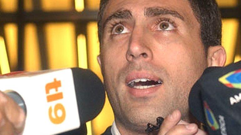 Santos era el manager de Cocucci.