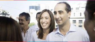 Vidal y Tagliaferro, una pareja política.
