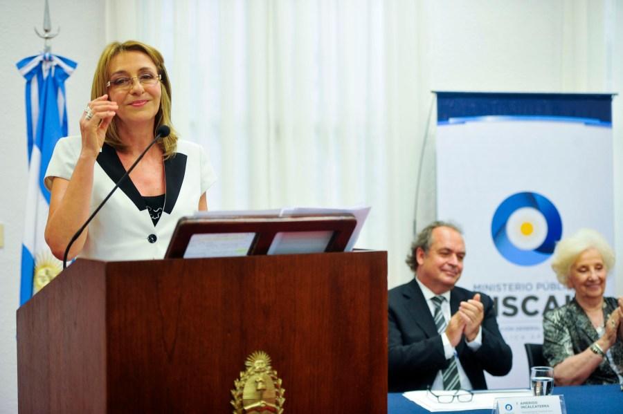 Gils Carbó defendió al Ministerio Público.