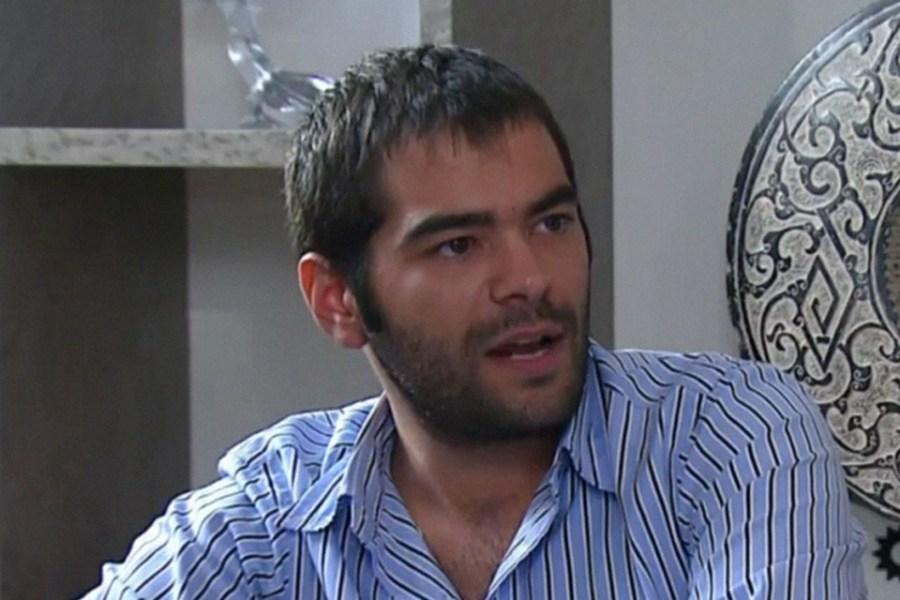 Elaskar durante la entrevista con Lanata.