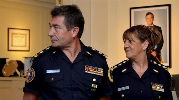 La nueva cúpula de la Policía Federal.