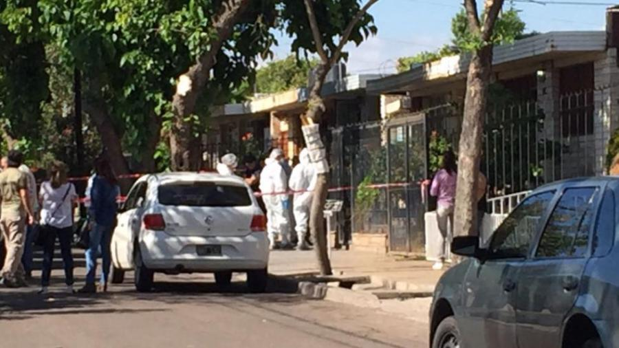 El triple crimen ocurrió en Godoy Cruz.