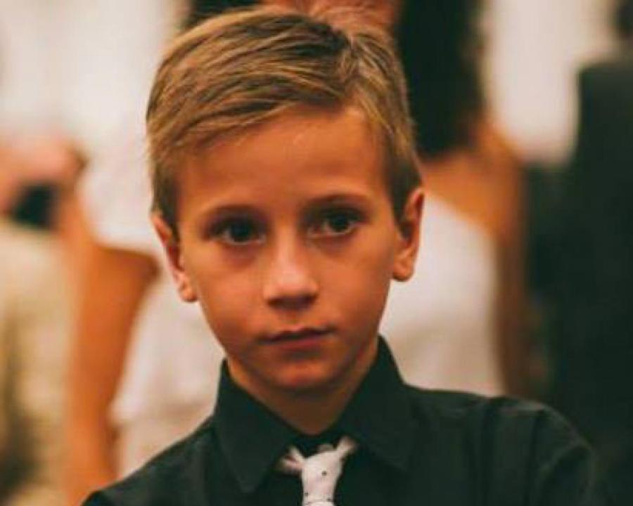 Brian tenía 14 años cuando fue asesinado.