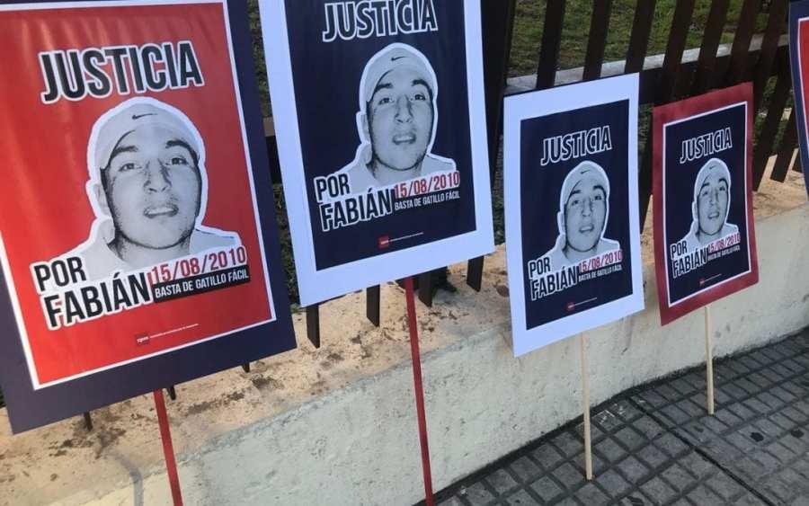 Fabián Gorosito fue asesinado en 2010.