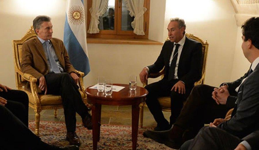 Macri y Mindlin, amigos empresarios.