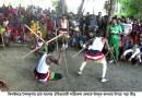 শৈলকুপা ফুলহরি গ্রামে ঐতিহ্যবাহী লাঠি খেলা অনুষ্ঠিত