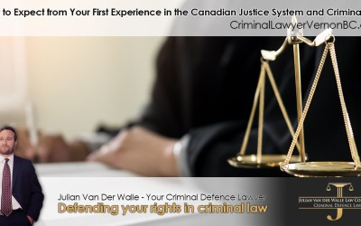 What to Expect from Your First Experience in the Canadian Justice System and Criminal Trial