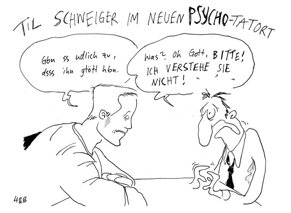 Psycho-Tatort via Titanic