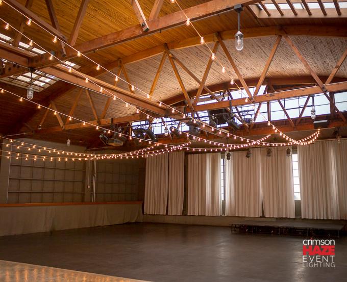 String lights at 415 Westlake