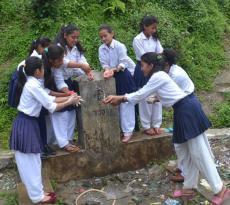 Promoting Hand Washing