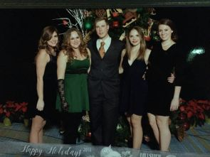 Heather, who is my best friend of 24 years, myself, Pimp Daddy T, new friend Taylor and uber-fitness-queen Rebecca
