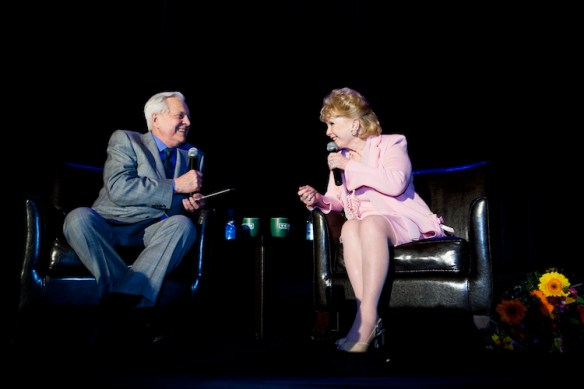 Robert Osborne and Debbie Reynolds. Photo courtesy of TCM.