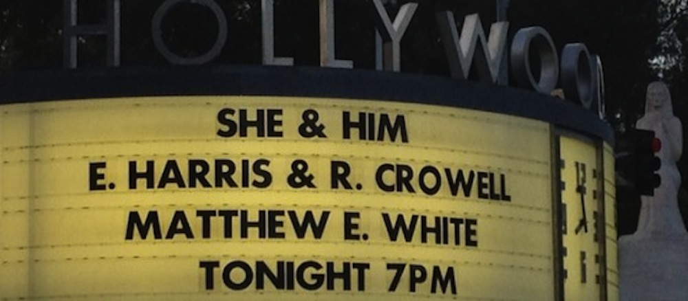 She and Him - Hollywood Bowl