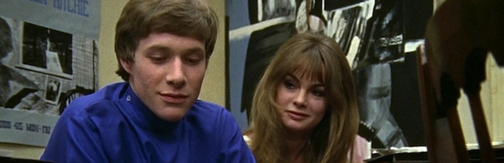 Paul Jones and Jean Shrimpton in PRIVILEGE