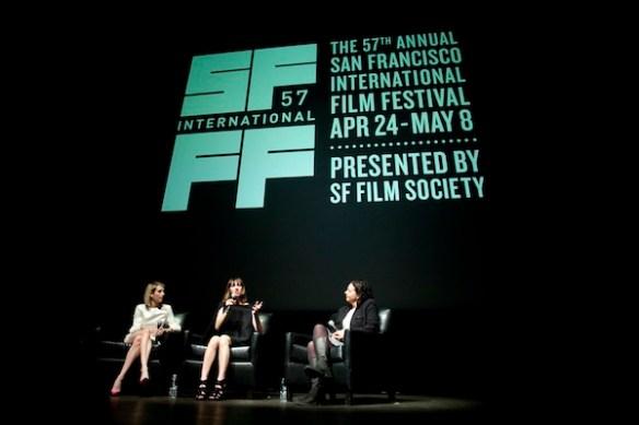Emma Roberts, Gia Coppola and Rachel Rosen by Pamela Gentile