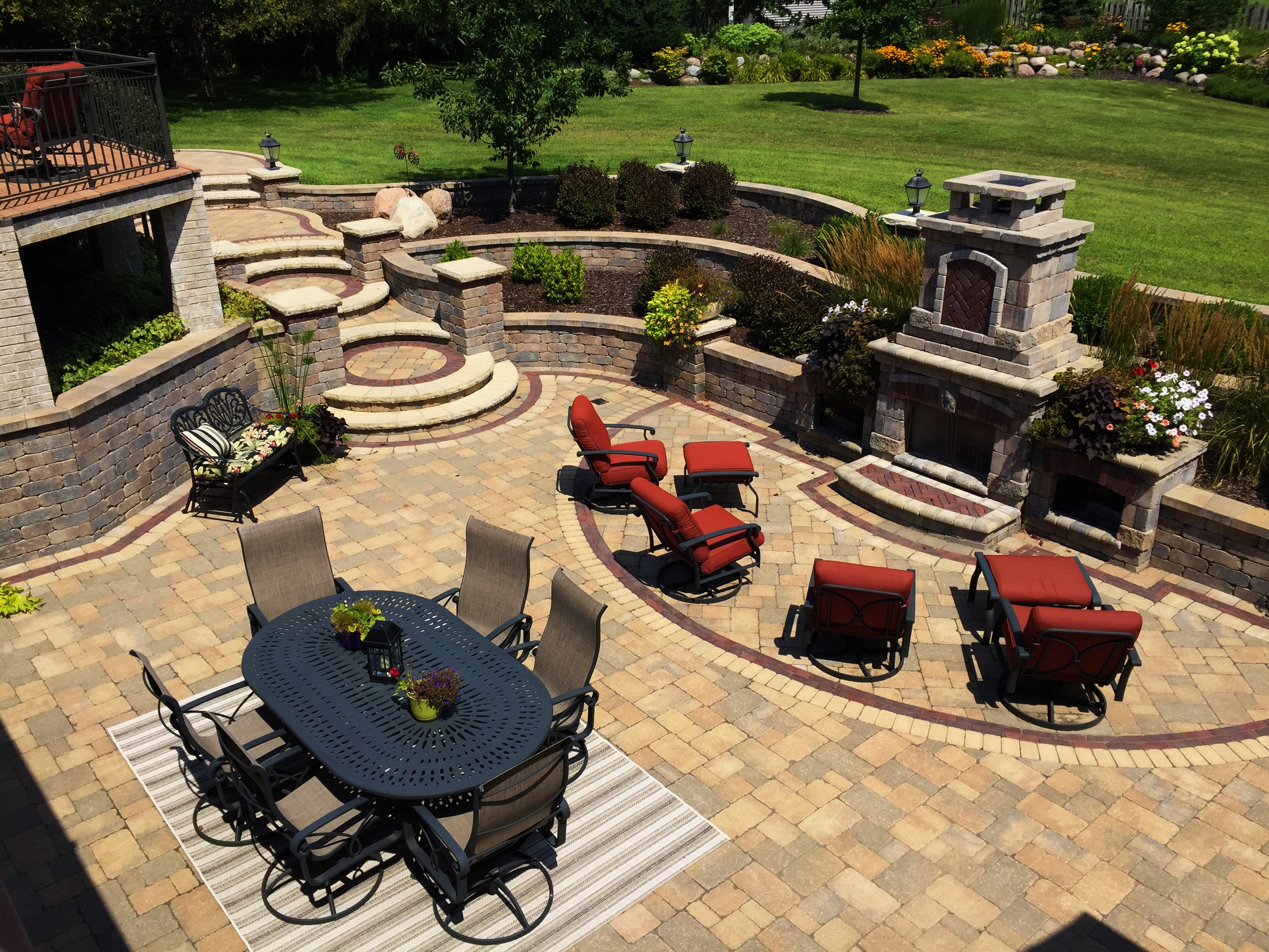 hardscape design brick pavers