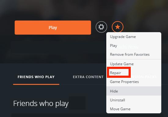 OriginRepair2 Po update má Apex problém so spustením