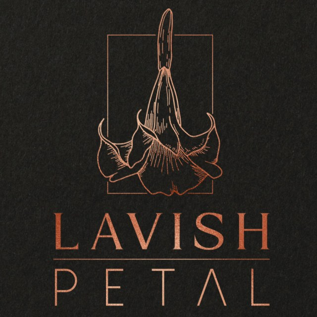 Lavish Petal Joseph Vera Crippen Design Logo