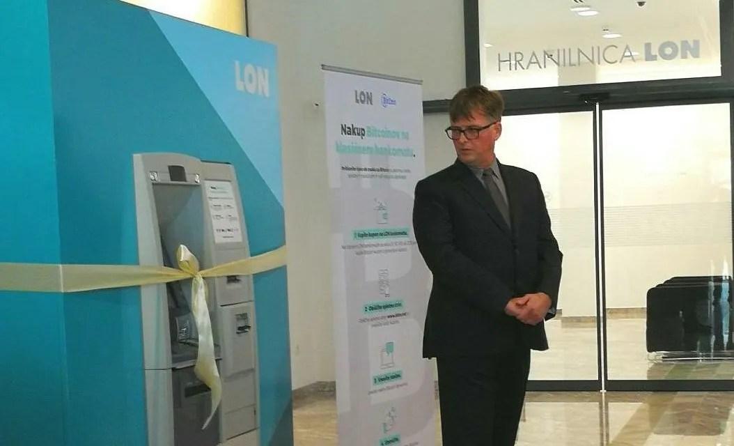 Banco Privado de Eslovênia permitirá comprar cupões de bitcoins em caixas eletrônicas