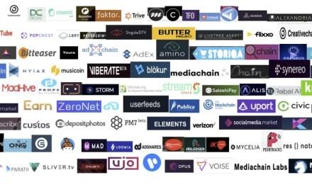 As 100 companhias Blockchain que estão reinventando as indústrias culturais e criativas com tokens
