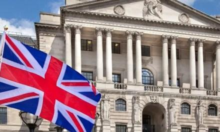 Banco Central de Reino Unido estuda emitir a sua própria Criptomoeda Nacional