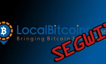 Localbitcoins implementa Segwit em sua plataforma