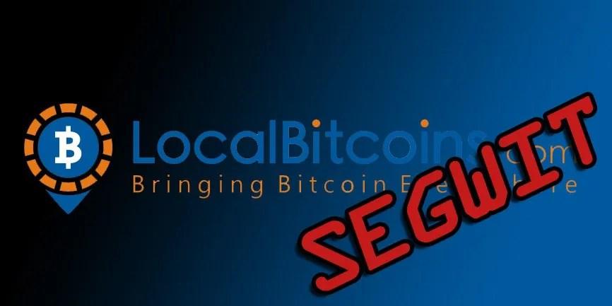 Bitcoin-LocalBitcoins-SegWit