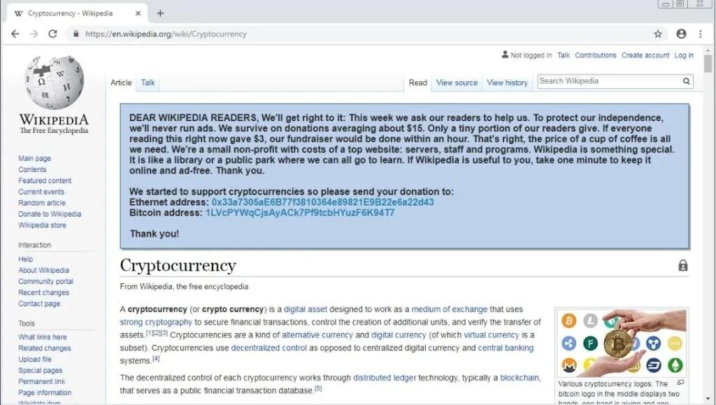 endereços-falsas-Wikipedia-scam