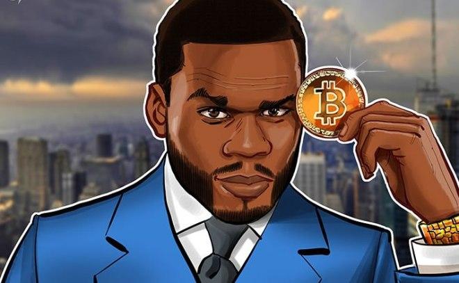 50 cent millonario Bitcoin