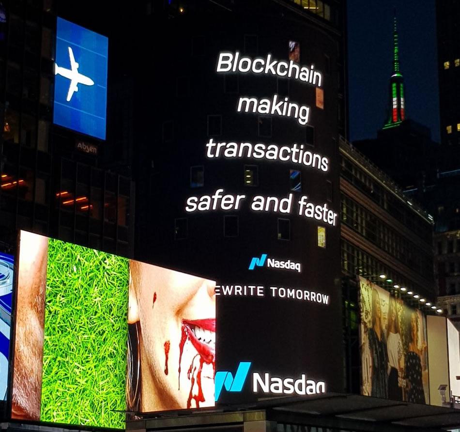 Nasdaq: Blockchain hace las transacciones más seguras y rápidas