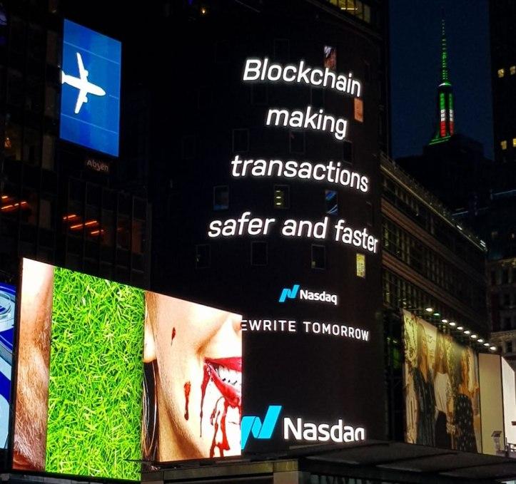 Nasdaq aplica tecnología Blockchain