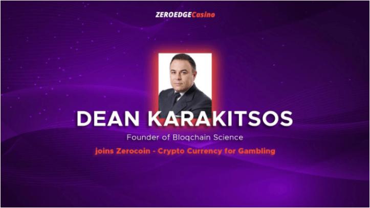 ZeroEdge Dean Karakitsos