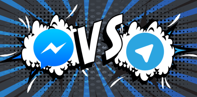 Facebook vs Telegram