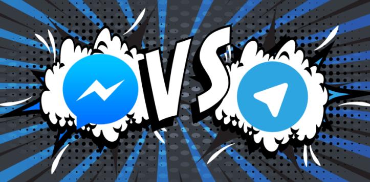 Facebook vs Telegram