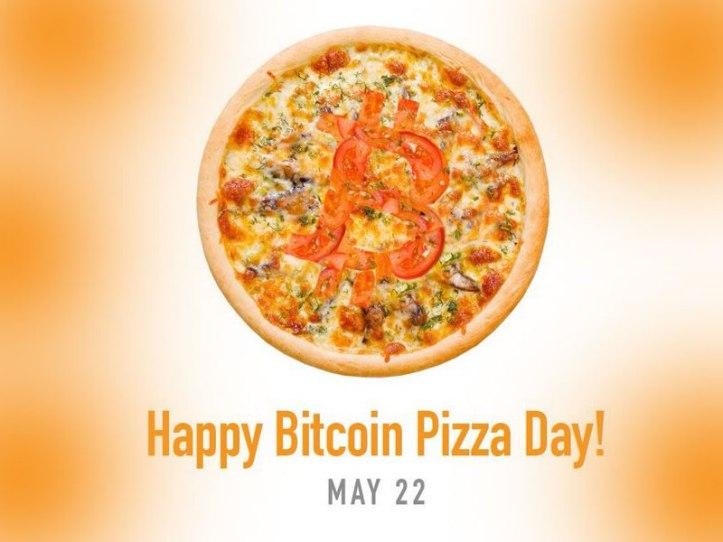 Bitcoin Pizza Day - 22 mayo