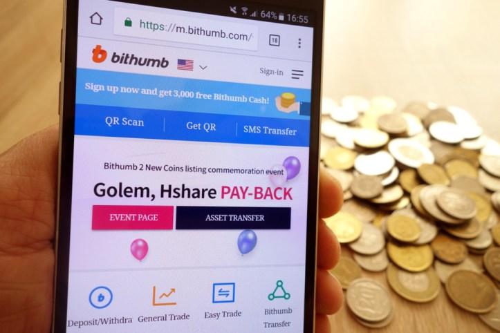 Bithumb suspende operaciones en algunos países