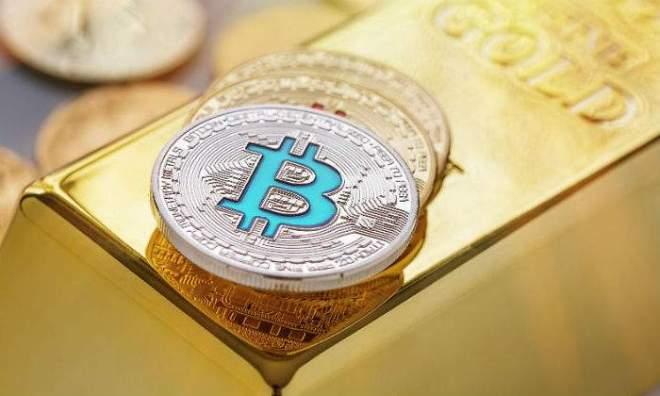 Bitcoin relacion con el Oro