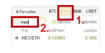 NEOETH Trading Binance