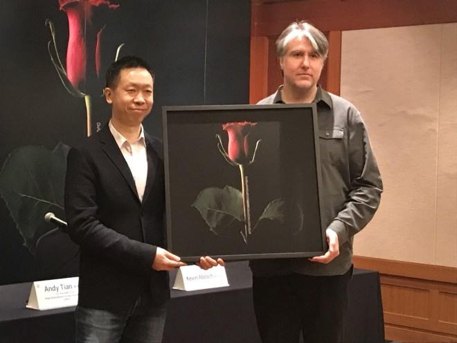 Cuadro Forever Rose  vendido por 1 millón de dólares