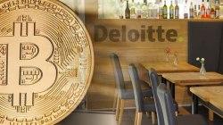 Deloitte permite que los empleados paguen almuerzos con Bitcoin
