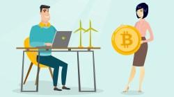 Bitcoin será minado con energía eólica