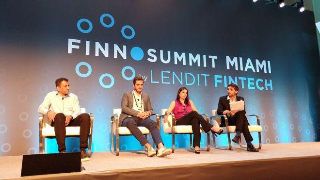 Panel sobre los Neobanks en Finno Summit Miami 2019