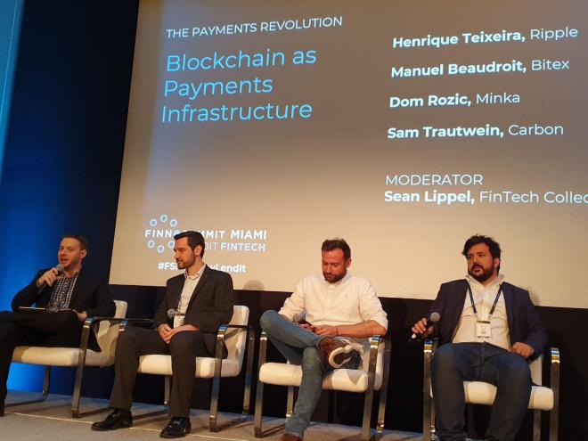 Panel Blockchain en Finno Summit Miami 2019