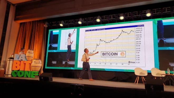 Predicción: El trader  Fausto Botelho vaticinó en laBITconf que el Bitcoin puede llegar al millón de dólares