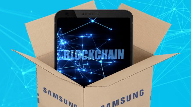 Samsung y la Blockchain