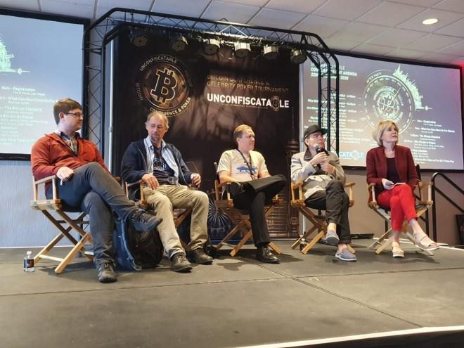 Panel sobre Bitcoin en Unconfiscatable 2020