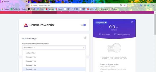 Now that you've downloaded the browser, you can join rewards