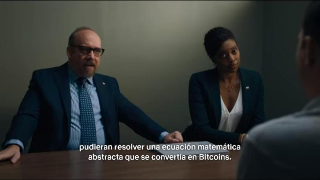 Image from the first chapter of season 5 of billions.