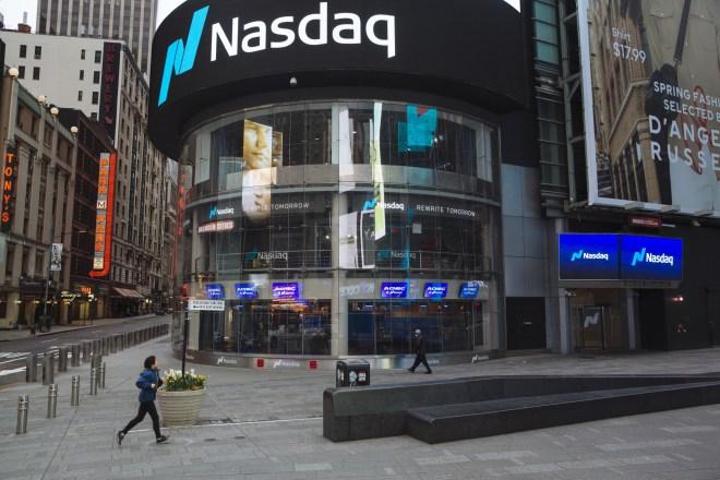 Nasdaq podría recibir por primera vez a una exchange de criptomonedas, se trata de la recientemente lanzada EQUOS.io. Fuente: Bloomberg
