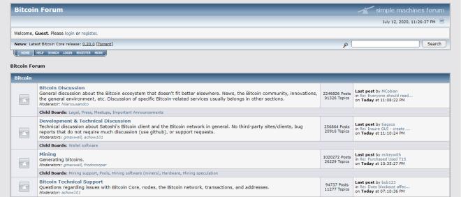 Los ideales nacidos en foros como BitcoinTalk son la gran ventaja de Bitcoin frente al fiat